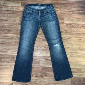 7FAMK 7 For All Mankind Bootcut Jeans